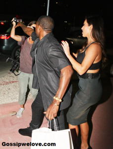 Kanye West Freaks Out At Female Paparazzo Over Reggie Bush Question