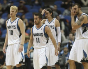 Minnesota Timberwolves Slammed For Being 'Too White'