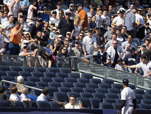 Yankees Try To Disguise Empty Seats At ALCS