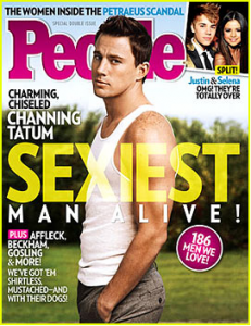 Channing Tatum Is PEOPLE's Sexiest Man Alive 2012