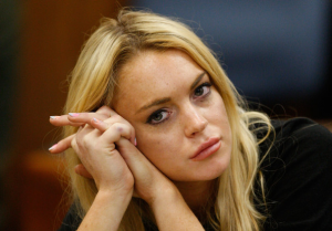Lindsay Lohan Facing Jail Time If Judge Revokes Probation