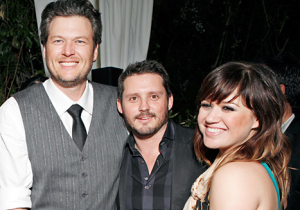 Blake Shelton Takes Credit For Kelly Clarkson's Engagement