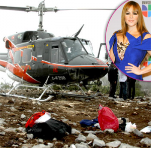 Mexican Cops Arrested For Looting Crash Site Of Jenni Rivera's Plane