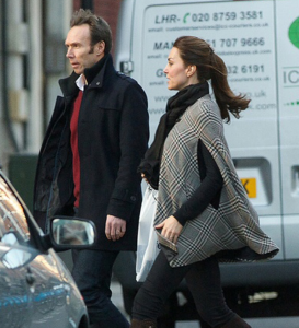 Duchess Of Cambridge Shows Her Baby Bump In Public