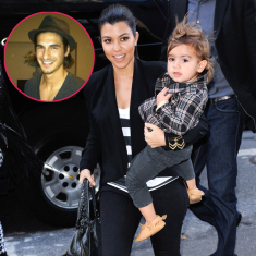Model Claims He Is The Father Of Kourtney Kardashian's Son