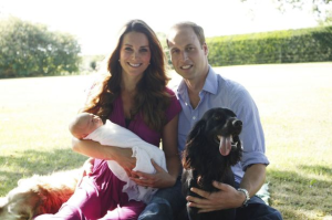 Prince William And Kate Release First Official Family Photos With Prince George