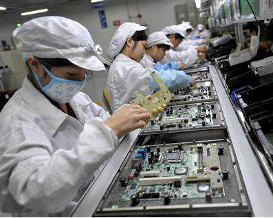 The working conditions in factories which produce Apple products are ...