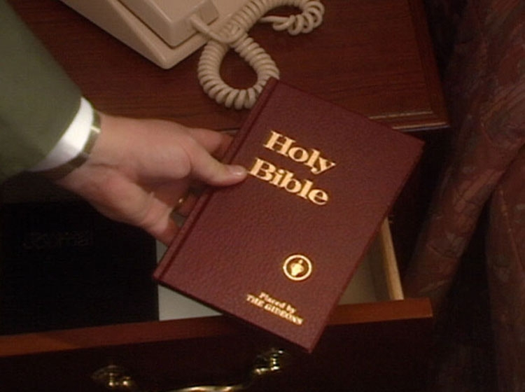 Why Do Gideons Put Bibles In Hotel Rooms