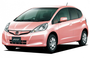 Honda Fit She's --- World's Only Car Exclusive For Women