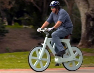 Israeli Inventor Creates Bicycle Out Of Cardboard