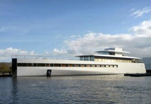 Steve Job's iPhone-Inspired Secret Yacht