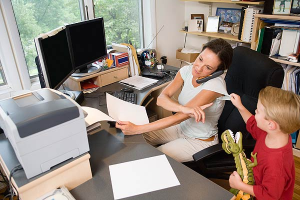 When Boundaries Between Work And Home Are Blurred