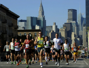 Disappointed Marathoners Run To Aid Sandy Victims Amid Canceled Race