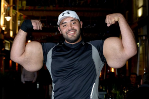 'Egyptian Popeye' Says His 31-Inch Biceps Are All-Natural