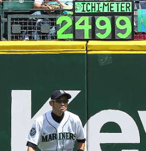 Ichiro Thanks 'Ichimeter Lady' With Surprise Gifts