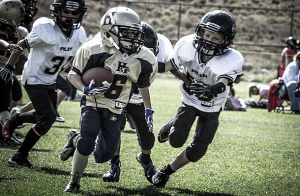 Nine-Year-Old Girl Dominates An All-Boys American Football League
