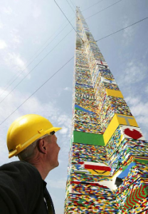 How Tall Can A Lego Tower Get Before Bottom Brick Is Crushed