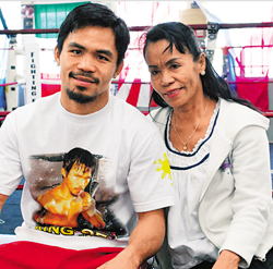 Mom Shares Bizarre Explanation For Manny Pacquiao's Loss