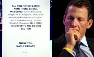 Australian Library To Move All Lance Armstrong Titles To Fiction Section