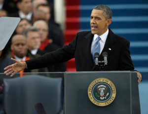 Obama Outlines Progressive Agenda In Second Inaugural Speech