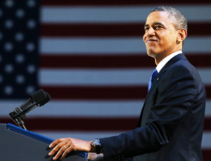 Poll Obama's Popularity Highest In Four Years