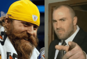 Brett Keisel Chops Off His Beard For Charity