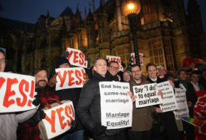 British MPs Vote In Favor Of Gay Marriage