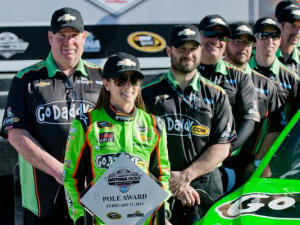 Danica Patrick Becomes First Woman To Win Daytona 500 Pole
