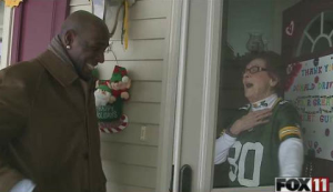 Donald Driver's Touching Surprise For Longtime Fan Before Leaving Green Bay