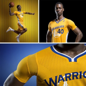 Golden State Warriors To Debut New Uniforms With Sleeves