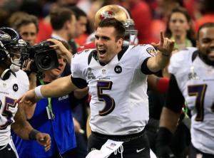 Super Bowl MVP Joe Flacco Drops F-Bomb On National TV
