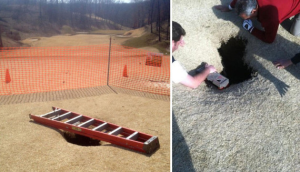 Illinois Golfer Swallowed By 18-Foot Sinkhole