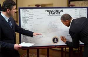 NCAA Tournament Bracket President Obama Picks Indiana As Winner