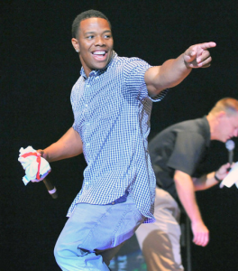 Ray Rice Vows More Action Against Bullying After Baily O'Neill's Death