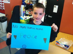 Boston Marathon Bombing's Youngest Victim Wrote 'No More Hurting People'