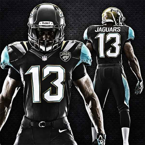 Jacksonville Jaguars Showcase New Uniform