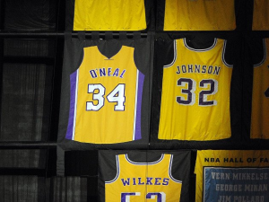 L.A. Lakers Mess Up Shaquille O'Neal's Jersey Retirement