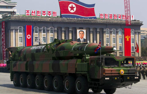 North Korea Moves Missile Launchers To Coast