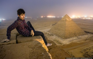 Russian Photographer Apologizes For Illegally Climbing Pyramids And Taking Amazing Photos