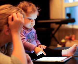 Toddlers And Tablets --- Helpful or Detrimental