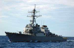 U.S. Moves Warship Closer To North Korea