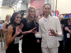 A Closer Look At Brittney Griner And Elena Delle Donne's WNBA Debut