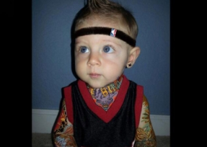 Baby Impersonates Chris 'Birdman' Andersen