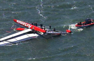 British Olympian Dies After America's Cup Boat Capsizes