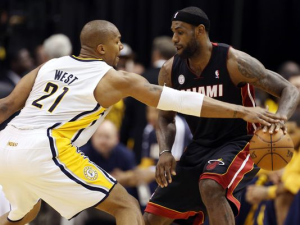 LeBron James And 2 Pacers Fined For Flopping