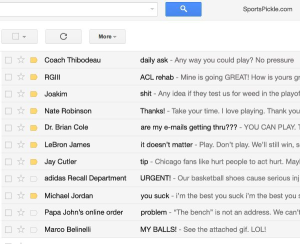 Take A Look At Derrick Rose's 'Gmail Inbox'