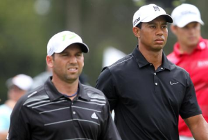 Tiger Woods-Sergio Garcia Feud Turns Racist