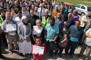 U.K. Mosque Greets EDL Protest With Tea And Biscuits