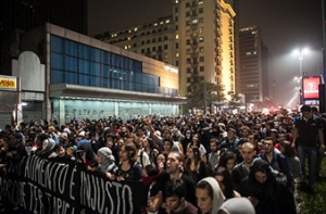 Brazil Hit By Widespread Protests