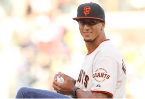Colin Kaepernick Clocks 87-MPH 1st Pitch